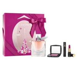 Lancome La Vie Est Belle Perfume and Makeup Gift Set for Women, 4 Pieces