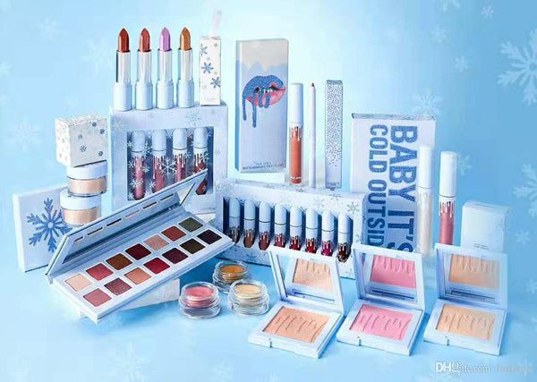 TOP SELLER BEST Christmas collection CHILL BABY eyeshadow palette BABY it's  COLD OUTSIDE Christmas makeup set