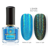 BORN PRETTY Holographic k Glittering Shimmer Laser Nail