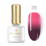 BORN PRETTY Thermal Nail Gel 6ml Temperature Color Changing UV Gel Polish Soak Off Nail Art Varnish Lacquer