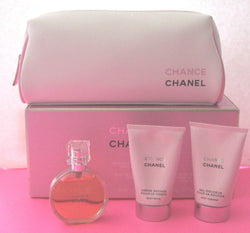 Chanel Chance Women's Gift Set with Trousse Signature Bag
