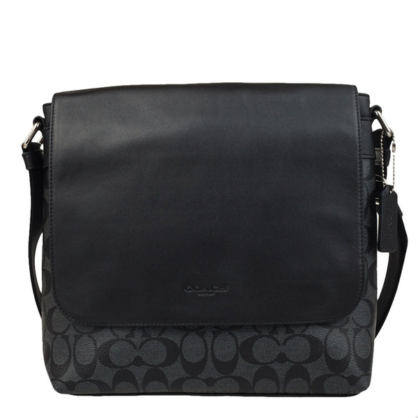 Coach Men's Charles Messenger Bag In Signature
