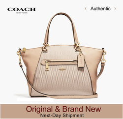 Coach Legacy Jacquard Prairie Satchel  Luxury Handbags