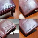 DIY Engraving Customize Service T Don't contain Women Wallet Men Purses Clutch
