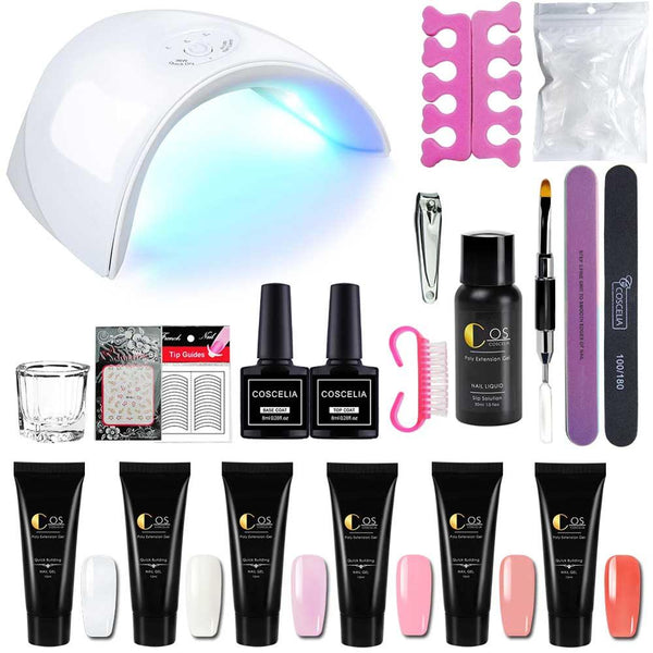 Manicure Poly Gel Kits Nail