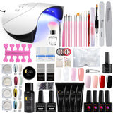 Nail Set UV LED Lamp For Manicure Gel Nail Polish Set Kit Soak Off Gel Varnish For Nail Art Set Dryer Machine Tools