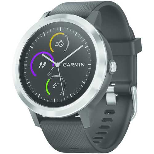 Garmin Vivoactive 3 (black With Stainless Hardware) (pack of 1 Ea)