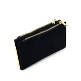 SY5054 Black - Long Wallet With Flap Design