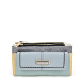SY5054 Blue - Long Wallet With Flap Design