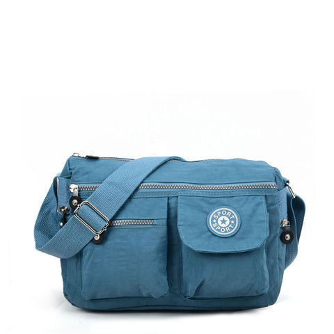 VK5414 Blue - Sports Waist Cross Body Bag