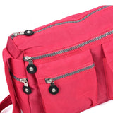 VK5414 Fushia - Sports Waist Cross Body Bag