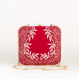 Embroider Garden Party Clutch