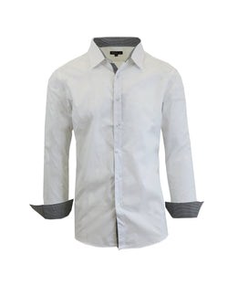 Men's Long Sleeve Casual Dress Shirt