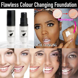 1 Piece Foundation Color Changing Liquid Foundation Makeup Change To Your Skin