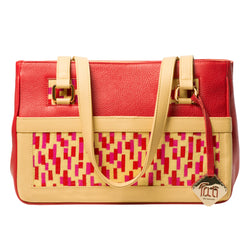 TATI BODUCH  Mosaic Collection, leather red
