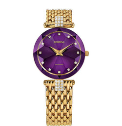 Facet Strass Swiss Ladies Watch J5.631.M