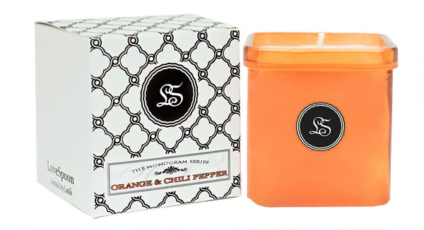 ORANGE & CHILI PEPPER SOY CANDLE