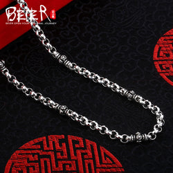 Beier new store 100% 925 silver sterling necklaces pendants trendy fine jewelry