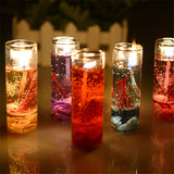 10Pcs/Set New Aromatherapy Smokeless candles Ocean shells jelly Aromatherapy