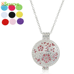 8 SEASONS Nonwovens Aromatherapy Essential Oil Diffuser Locket Necklace