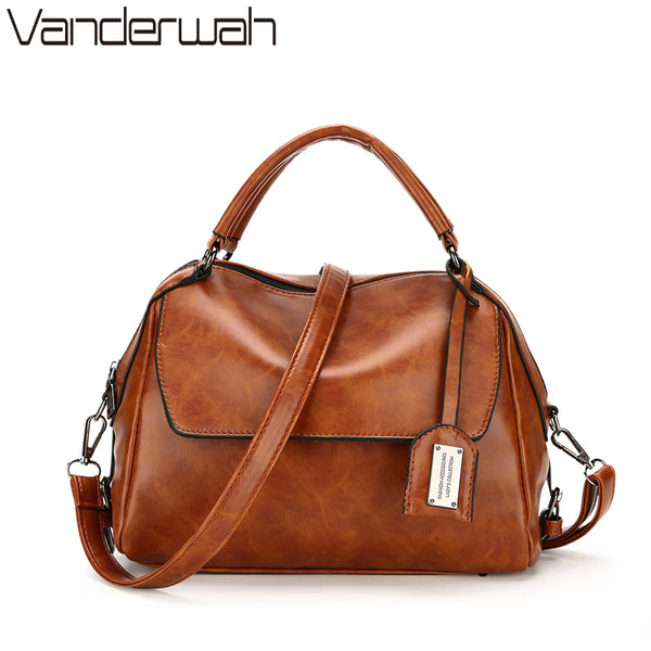 VANDERWAH OIL SKIN luxury handbags
