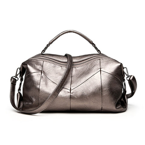 VANDERWAH Brand Leather Luxury Handbags Women Bags Designer