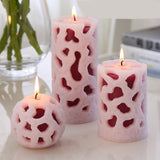 natural essential oil fragrance candle smoke-free european-style