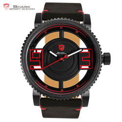 Megamouth Shark Sport Watch Black Red 3D