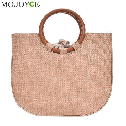 Simple Women 2018 Summer Beach Travel Tote Handbag