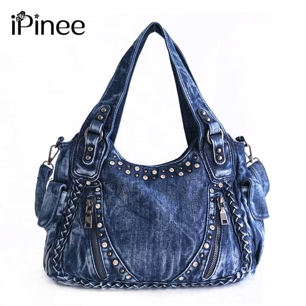 Denim Handbags Women Tote Bag