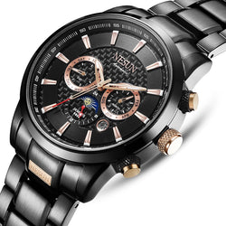 Switzerland  NESUN Watches Men Multi functional