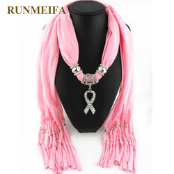 Pendant Jewelry Scarf  shawl scarf for women