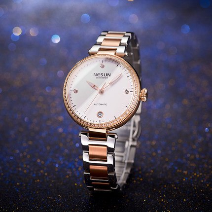 Nesun Luxury Brand Automatic Mechanical Bracelet Watch