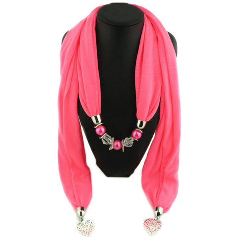 love pendant  summer jewelry pendant shawls necklace scarves fashion