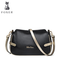 FOXER Brand Women Genuine leather Crossbody