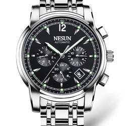Luxury Brand NESUN Switzerland Watch multi functional clock.
