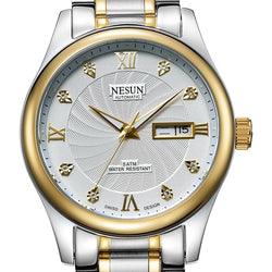 Switzerland Business Brand NESUN  Automatic Self-wind