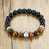 Original Natural Stone Beads Beaded BraceletTiger Eye