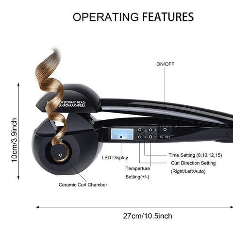 Magic Curling Irons LAutomatic Digital Professional