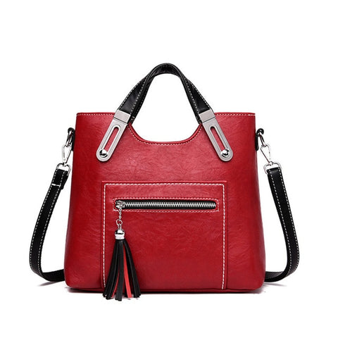 2019  Bags Leather Luxury Handbags Women