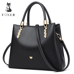 FOXER  Leather Luxury Messenger Bags