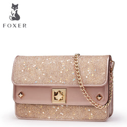 FOXER Leather Crossbody Bags,