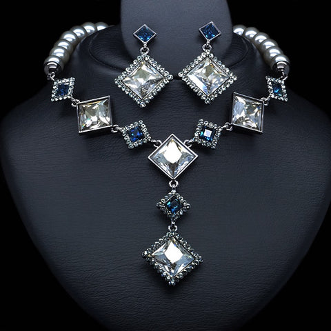 "Jewelry Set ""Estella"" with Swarovski™ crystals"
