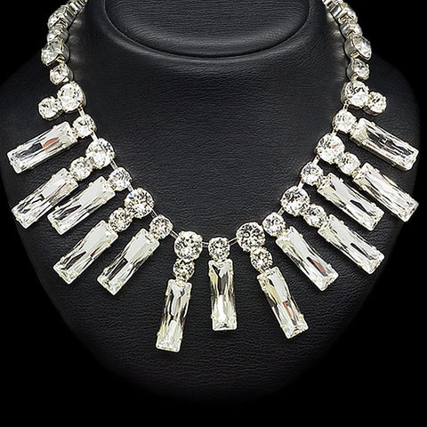 "Necklace ""Marie Antoinette"" with Swarovski™ crystals"