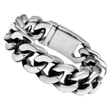 TK442 High polished (no plating) Stainless Steel Bracelet with No Stone in No Stone