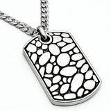 TK556 High polished (no plating) Stainless Steel Necklace with No Stone in No Stone