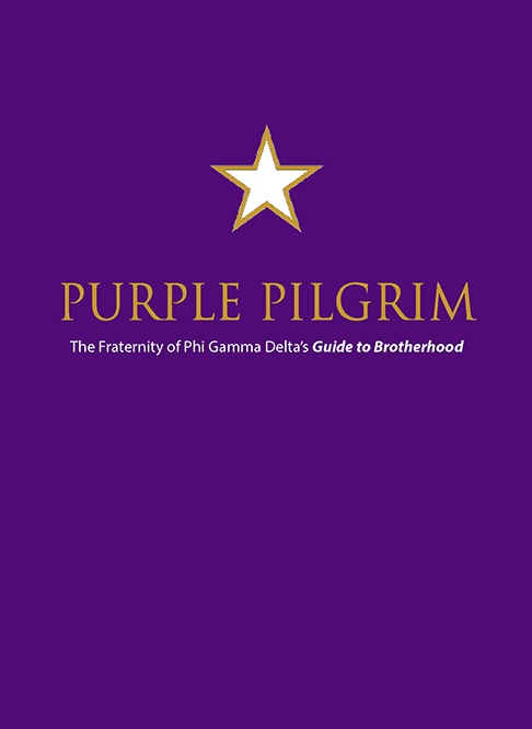 New Member Pin & Purple Pilgrim