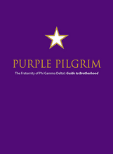 Colony Pledge Pin & Purple Pilgrim