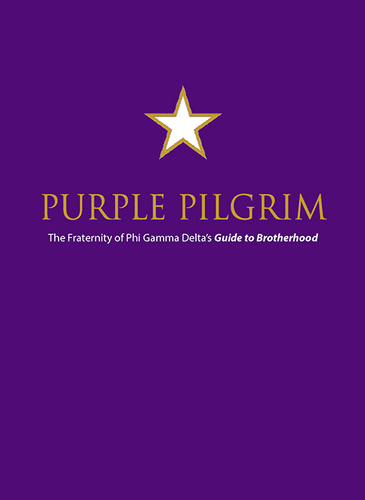 Colony New Member Pin & Purple Pilgrim