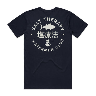 JAPONES PLEASE PREMIUM TEE - NAVY